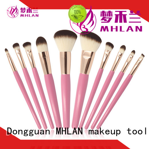 custom cosmetic brush set supplier for wholesale