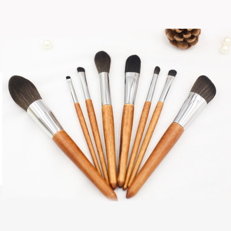 MHLAN name brand 8 pcs soft fiber makeup brush sets