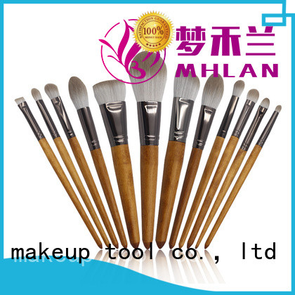 MHLAN 100% quality best makeup brush set supplier for wholesale