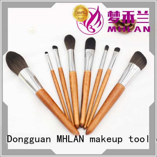 MHLAN 100% quality makeup brush set supplier for cosmetic