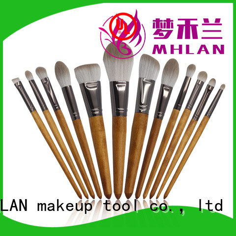 MHLAN custom full makeup brush set from China for wholesale