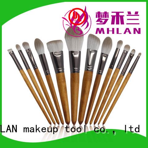 MHLAN custom full makeup brush set from China for wholesale