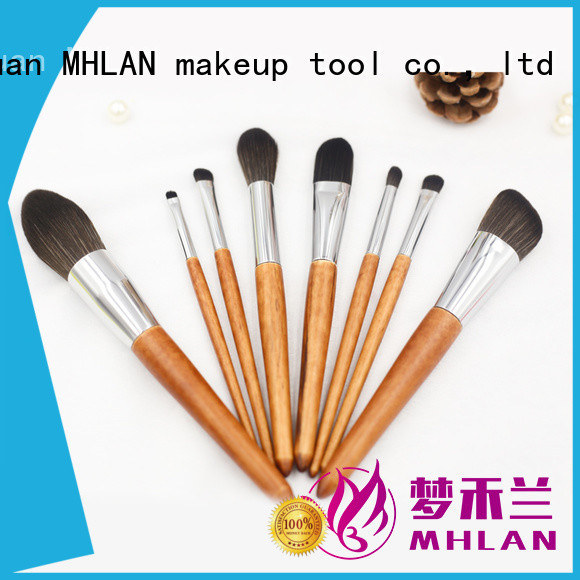 custom best makeup brushes kit supplier for cosmetic