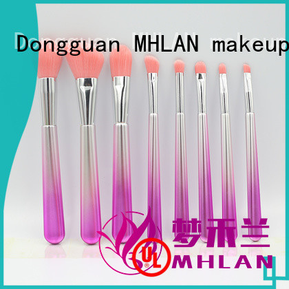 MHLAN custom kabuki brush set supplier for cosmetic