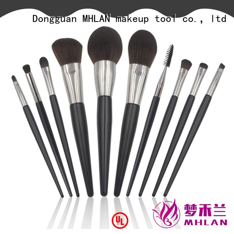MHLAN custom eyeshadow brush set from China for distributor