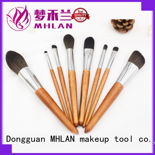 MHLAN custom eye brush set supplier for cosmetic