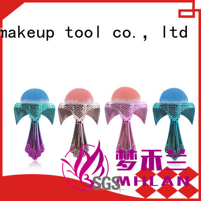 MHLAN delicate best loose powder brush from China for beauty