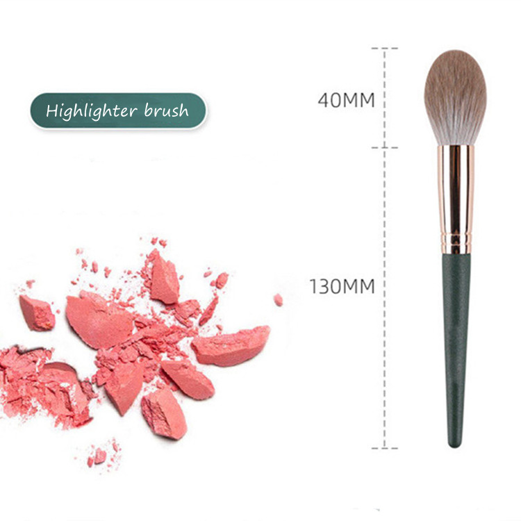 MHLAN Manufacturer Best Synthetic Hair Highlighter Brush