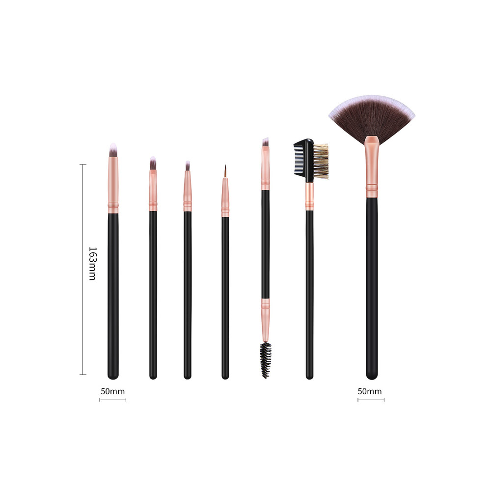 MHLAN OEM Serivce Makeup Eyeliner Brush Wholesale Manufacturer