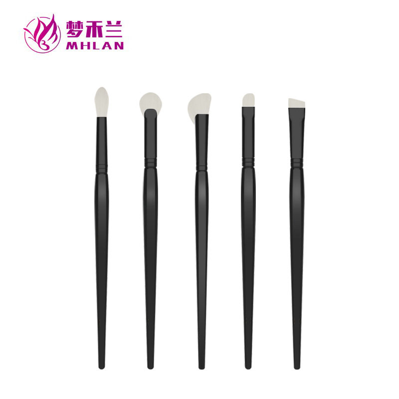 MHLAN Launched New Silk Soft Hair Eye Brush Set with Special Wood Handle
