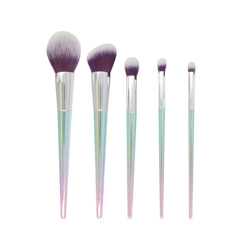 Factory Price 5 pcs ombre fluffy makeup brush Wholesale-MHLAN