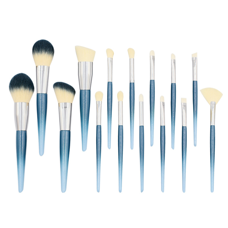 China Ombre handle and brush bristle Cosmetic Brush Manufacturers Customized-MHLAN
