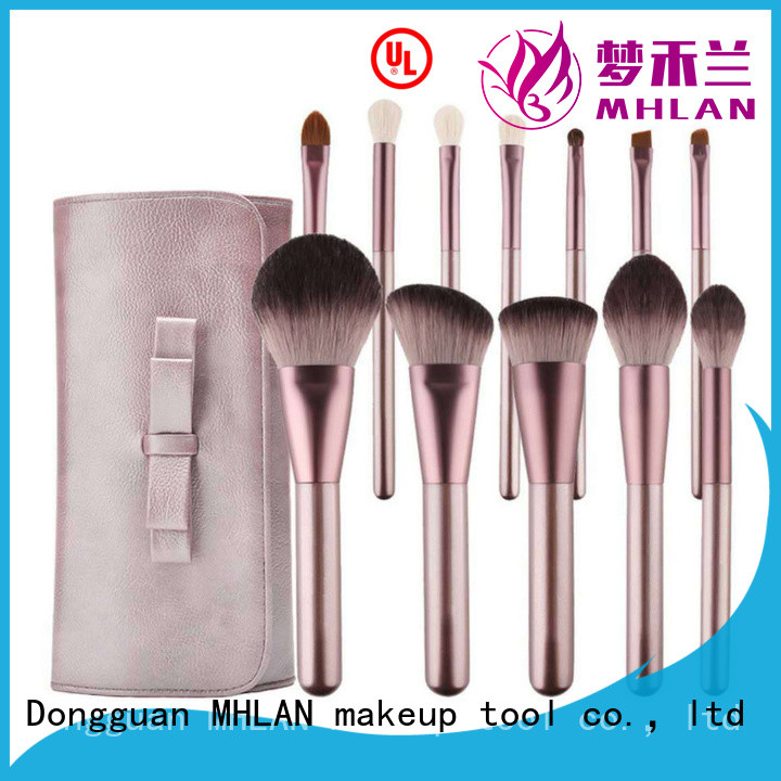 custom makeup brush set from China for wholesale