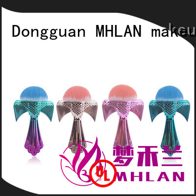MHLAN most popular compact powder brush factory for distributor