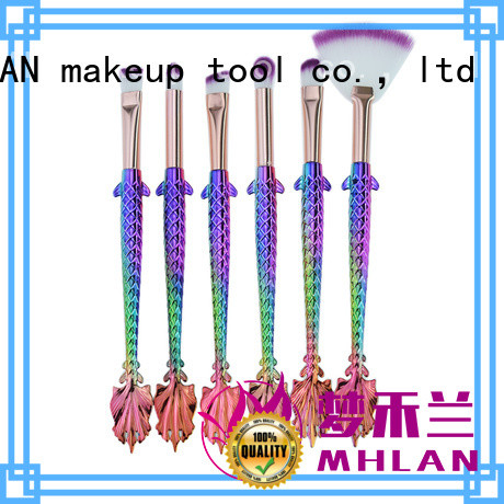 100% quality face brush set from China for cosmetic