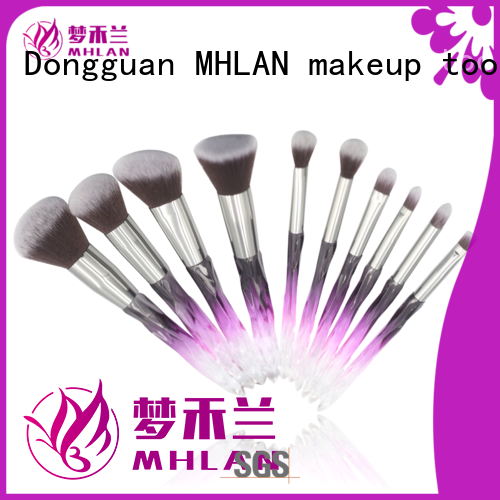 MHLAN 100% quality face brush set from China for cosmetic