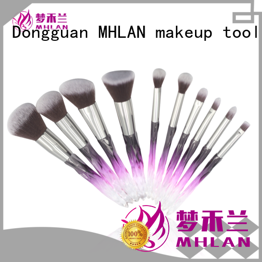 custom good makeup brush sets from China for wholesale