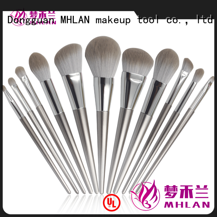 MHLAN custom face brush set from China for wholesale