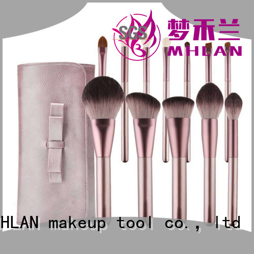 MHLAN 100% quality full makeup brush set supplier for distributor