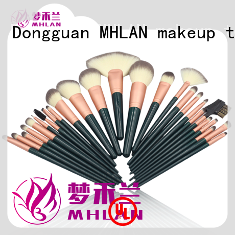 MHLAN cosmetic brush set supplier for distributor