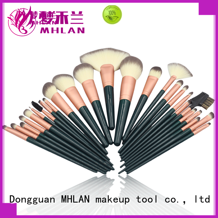 MHLAN good makeup brush sets from China for cosmetic