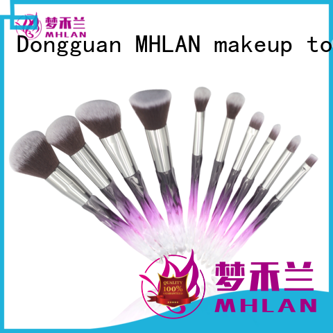 custom full makeup brush set from China for cosmetic